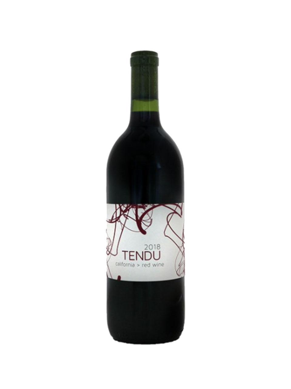 """Tendu Red Wine'' Dunnigan Hills AVA"