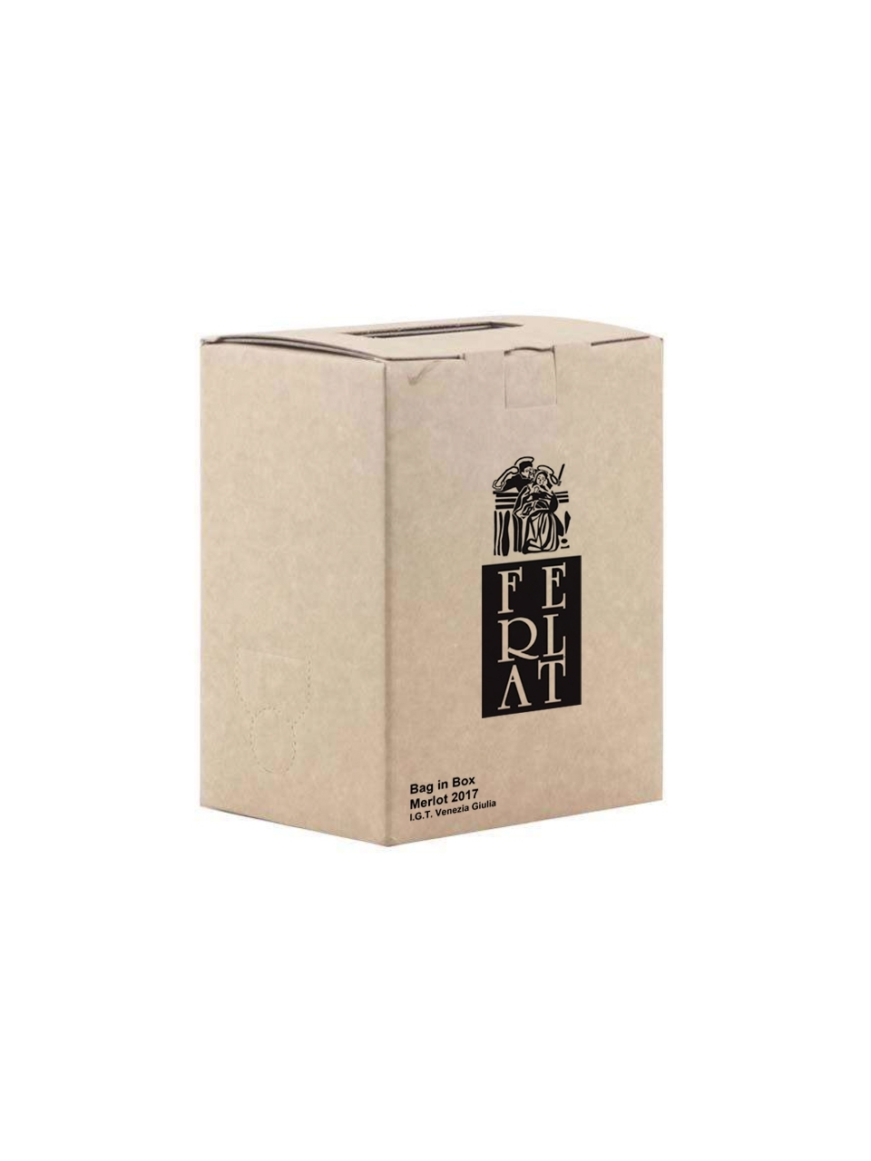Merlot IGT Venezia Giulia 2018 - Bag-In-Box