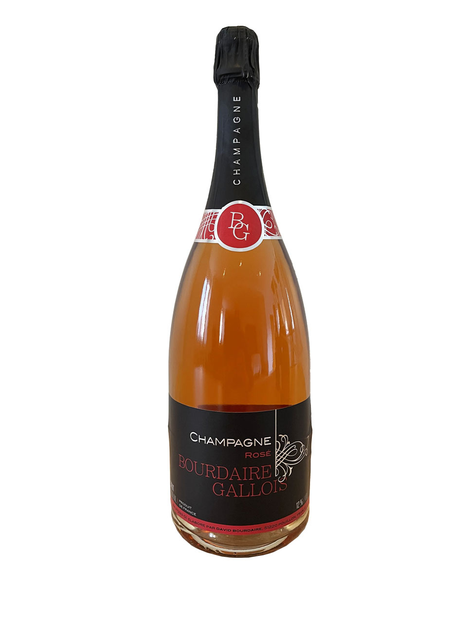 Champagne Brut Rosé AOC  - MAGNUM